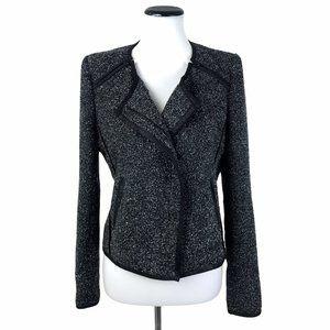 Mcginn Tweed Knit Blazer Jacket 6 #198
